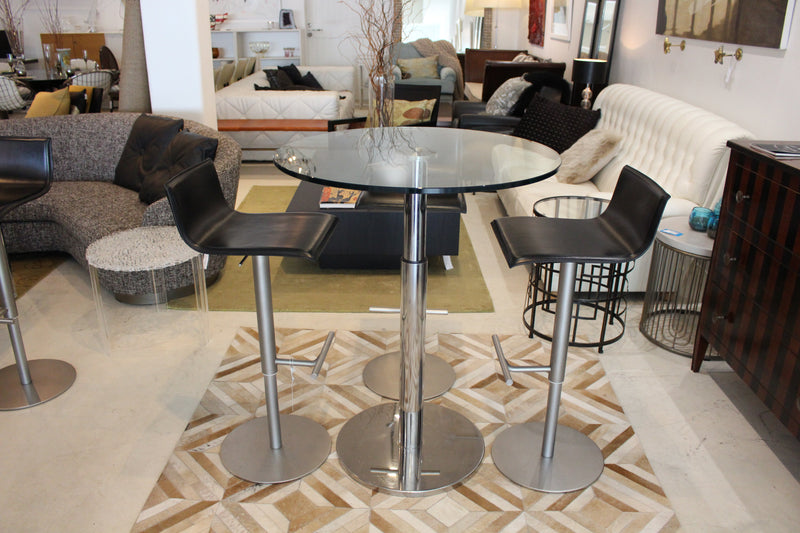 Ligne Roset 'Bobine' Glass Table