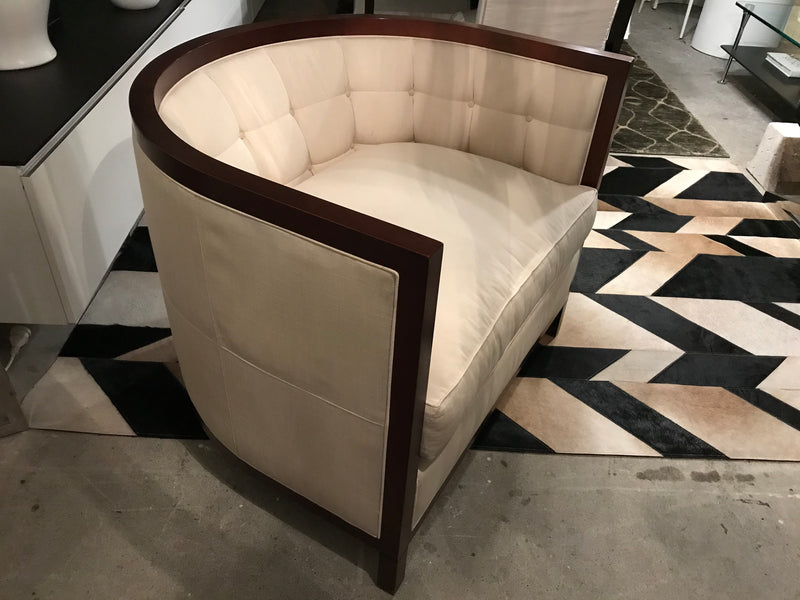Baker 'Archetype' Tufted Armchair
