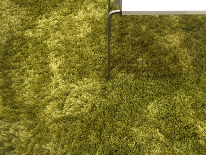 Lime Shaggy 'Capella' Rug