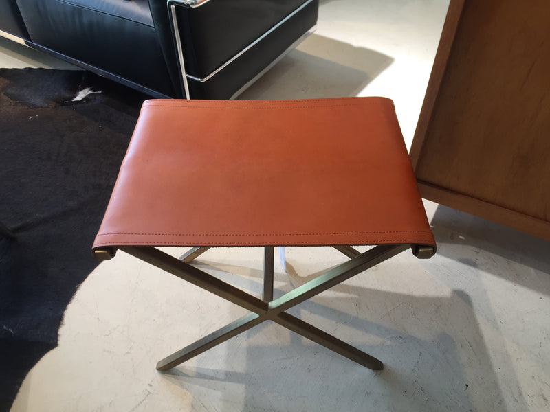 Buffalo Leather Director's Stool