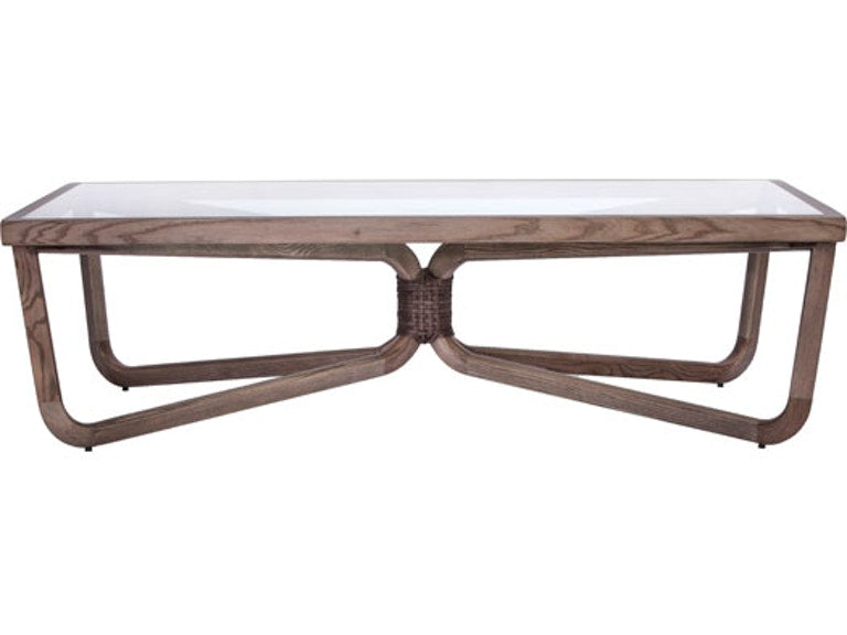 McGuire 'Knot' Coffee Table