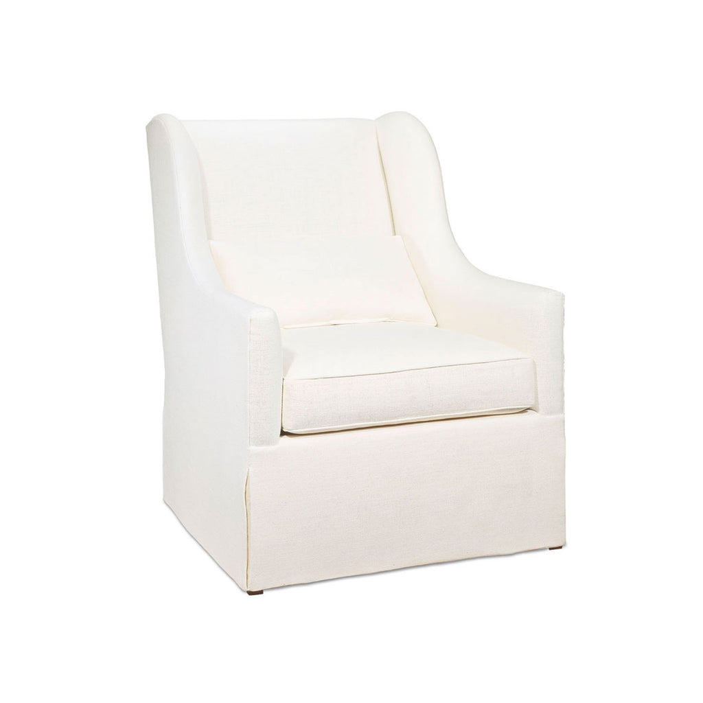 Alfonso Marina 'Coimbra II' Armchair with Skirt