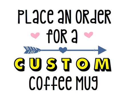 Custom Coffee Mug - Henry & Penny Treats