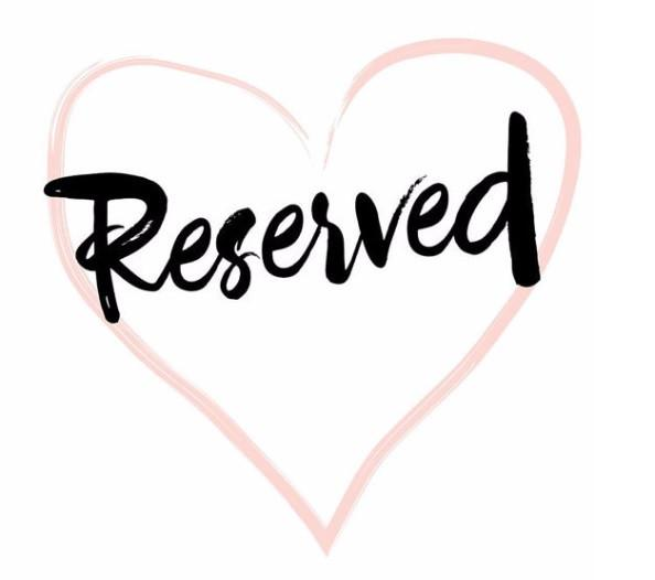 Reserved For Traci Fox