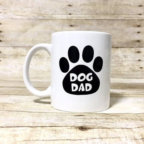 Double Sided - Dog Dad Coffee Mug