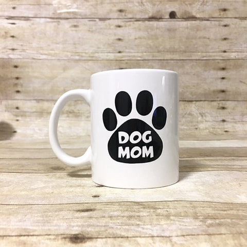 Double Sided - Dog Mom Coffee Mug