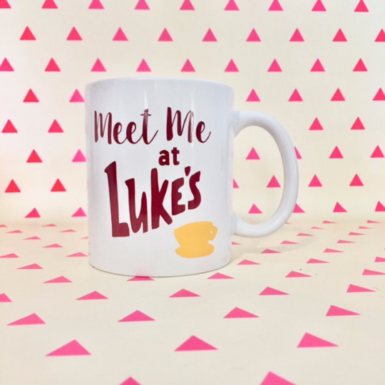 Meet Me at Luke's Coffee Mug - Gilmore Girls