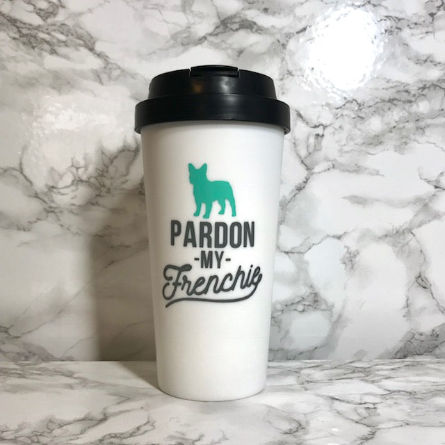 Pardon My Frenchie Travel Mug