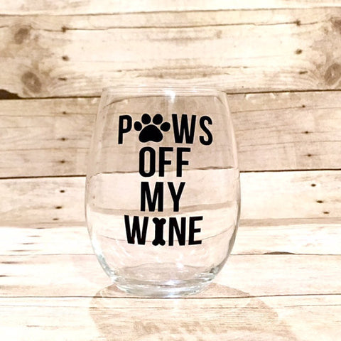 Paws Off My Wine