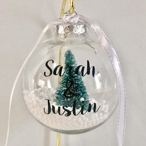 Christmas Tree Ornament - Personalized