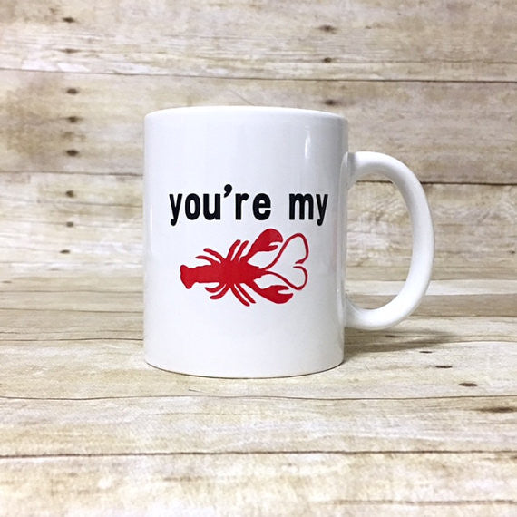 You're My Lobster Coffee Mug - Henry & Penny Treats