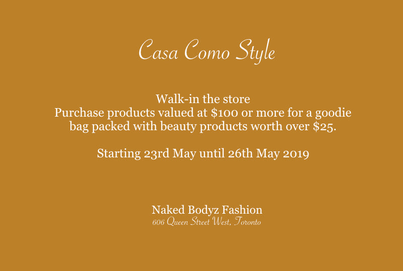 Naked Bodyz Fashion x CC Style