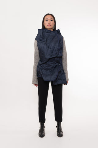 Women's Asymmetrical Jacket - casacomostyle