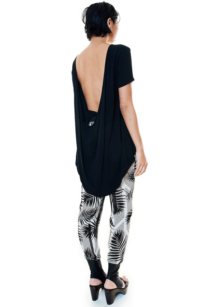 Low Back Drape Top - casacomostyle