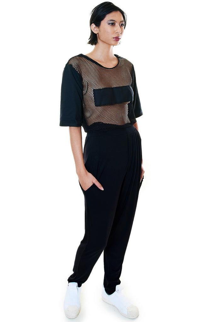 Mesh Top with Solid Back - casacomostyle