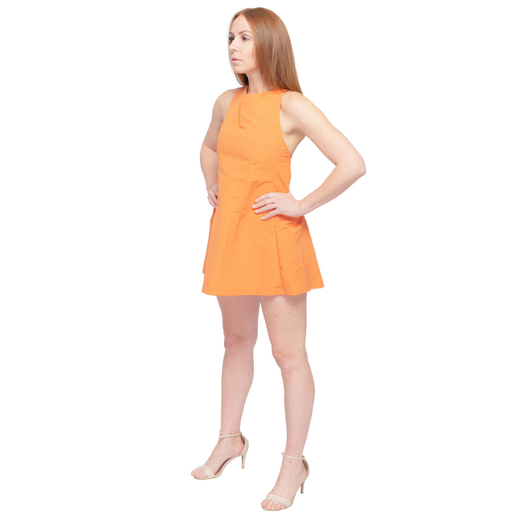 Tangerine Sports Dress - casacomostyle