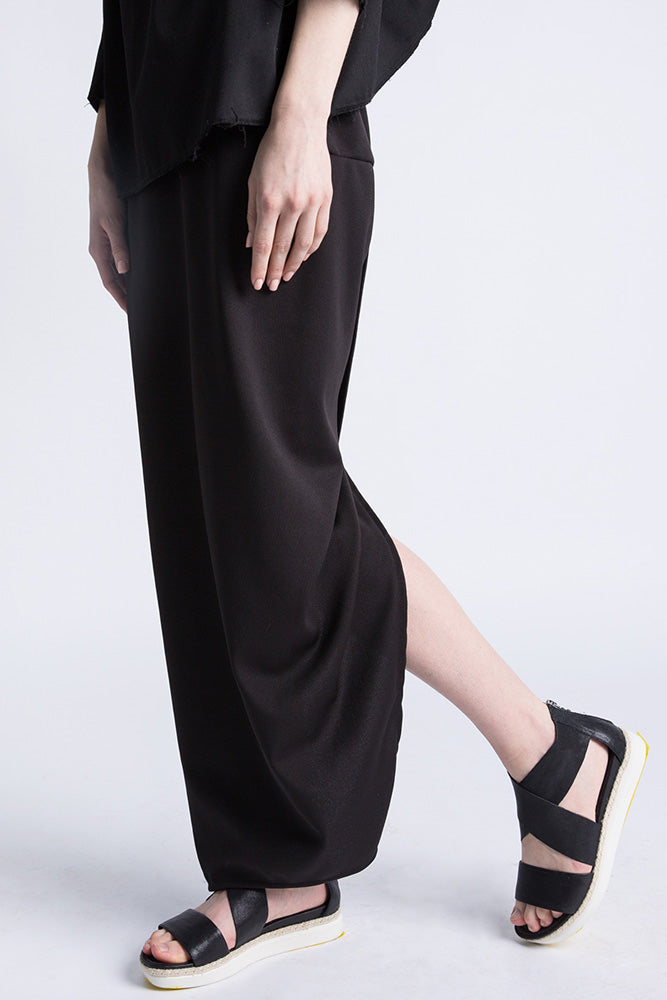 Casa Como full length skirt with cross over back.