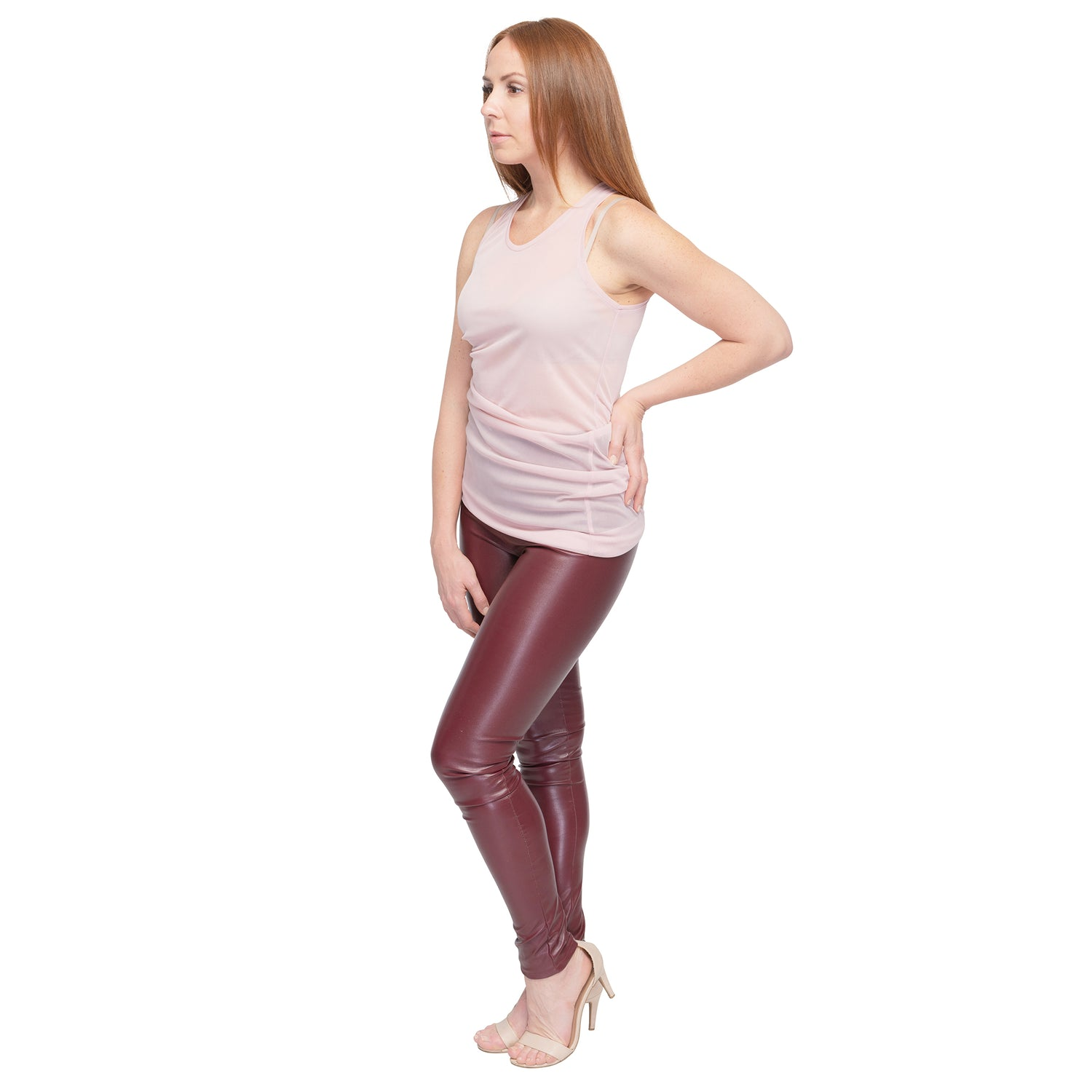 Faux Leather Leggings - casacomostyle