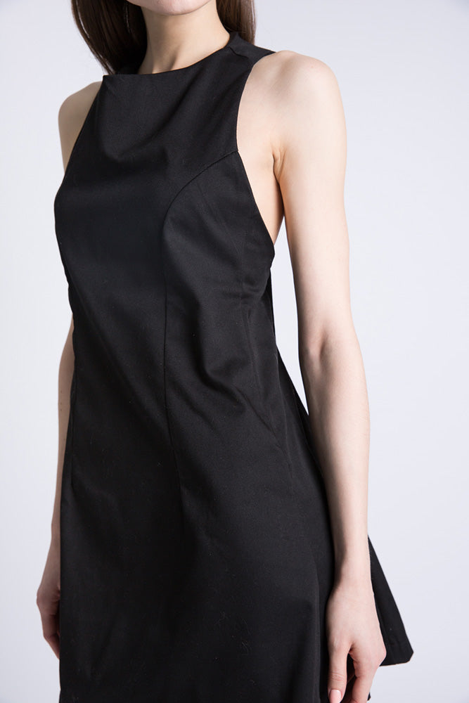 Black Sports Dress - casacomostyle