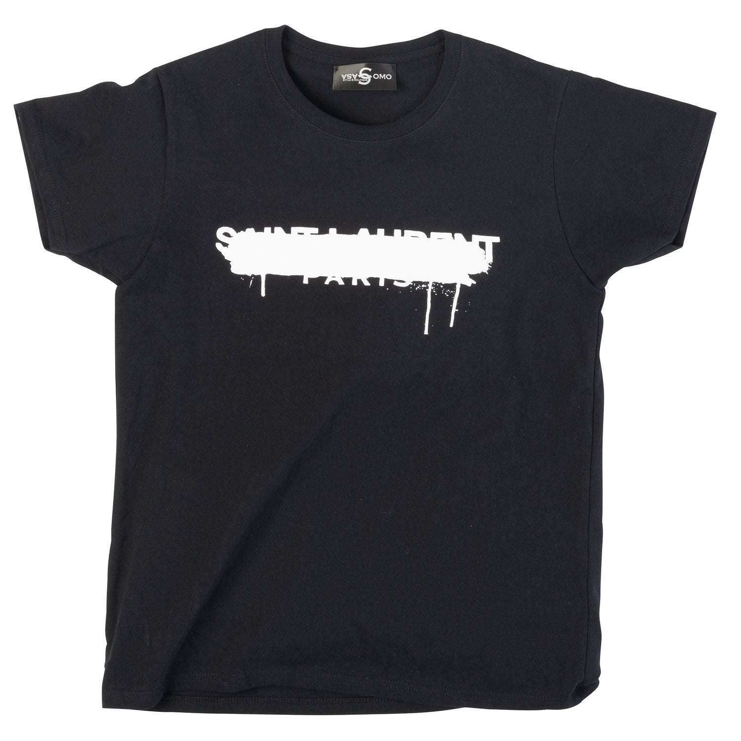 SAINT LAURENT CROSS TEE - casacomostyle