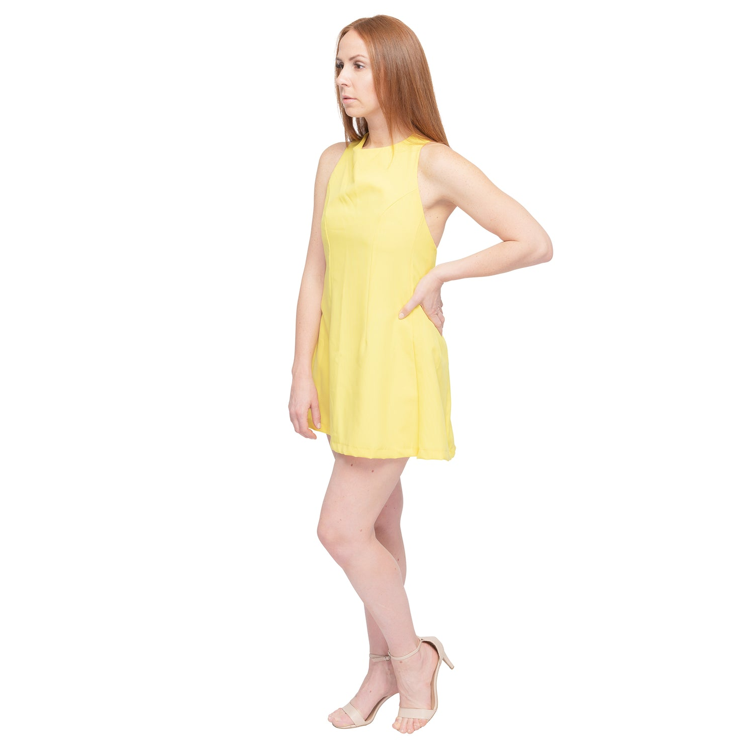 Yellow Sports Dress