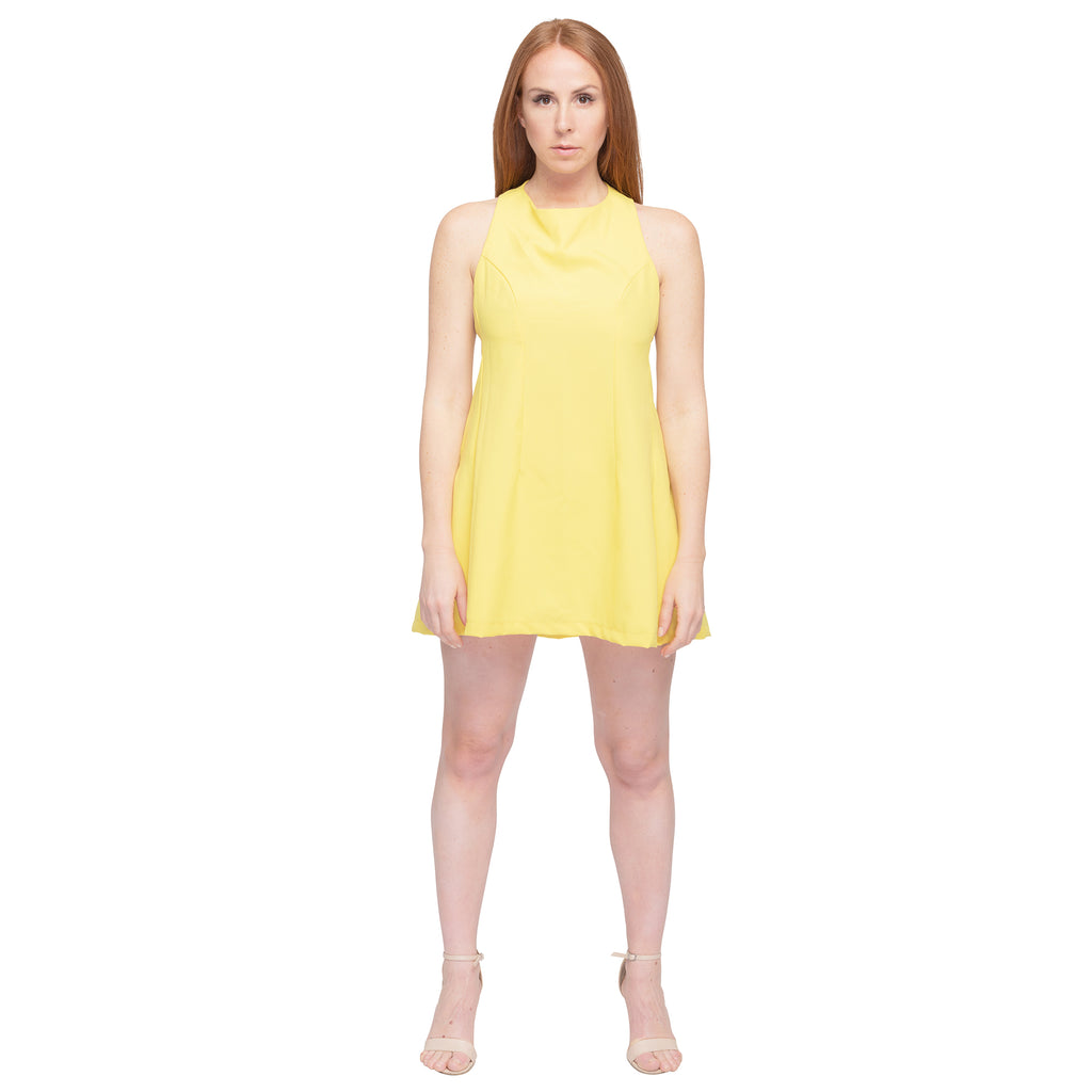 Yellow Sports Dress - casacomostyle