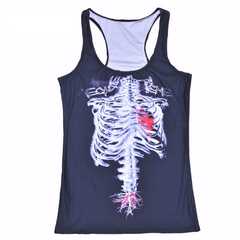 Skeleton Tank Top