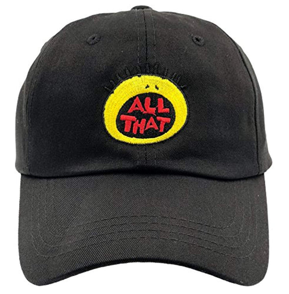 All That Logo Embroidered Dad Hat Baseball Cap