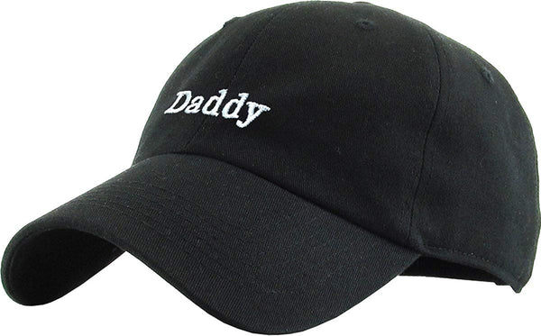 Classic Daddy Embroidered Dad Hat Baseball Cap