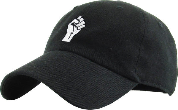 Fist Resist Embroidered Dad Hat Baseball Cap
