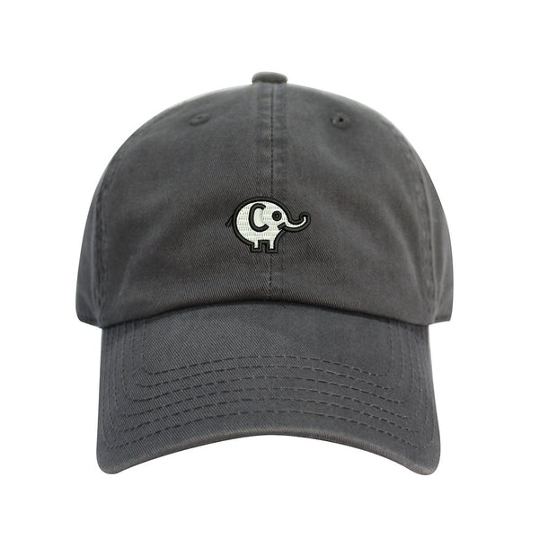 Elephant Embroidered Dad Hat Baseball Cap