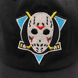 Hockey Mask Embroidered Dad Hat Baseball Cap