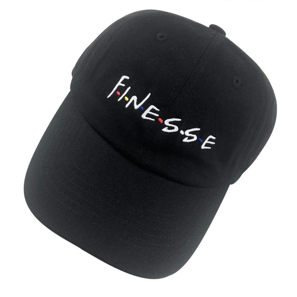 Finesse Embroidered Dad Hat Baseball Cap