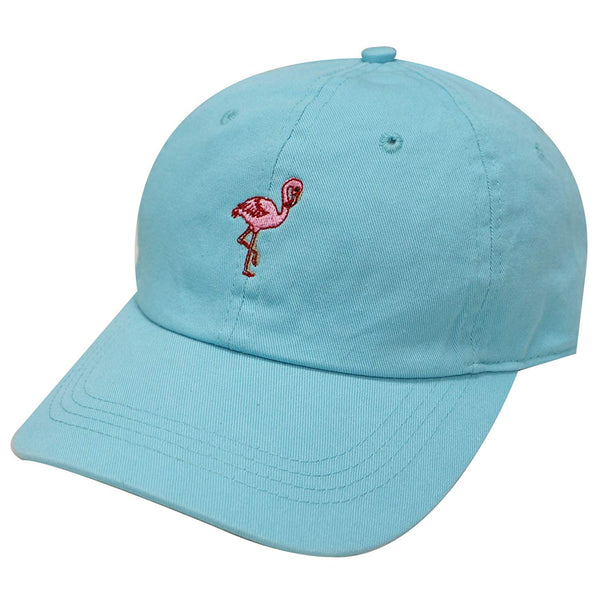 Flamingo Embroidered Dad Hat Baseball Cap