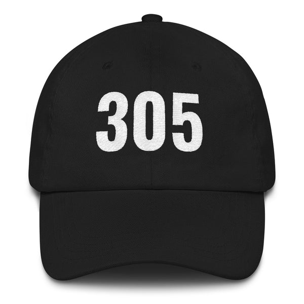Embroidered Miami Dade Classic 305 Area Code Dad Hat Cap Unisex
