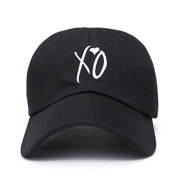Embroidered XO Heart Dad Hat Cap Unisex