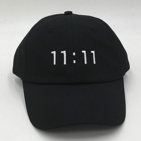 11:11 Make a Wish Embroidered Dad Hat Cap Unisex