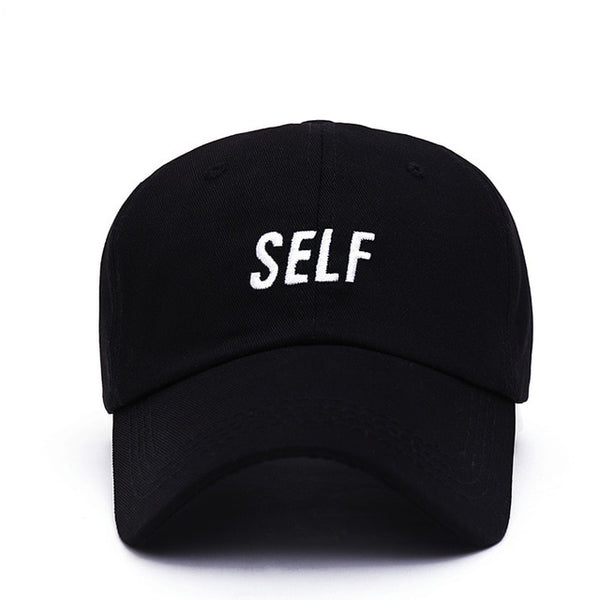 Embroidered Self Dad Hat Cap Unisex