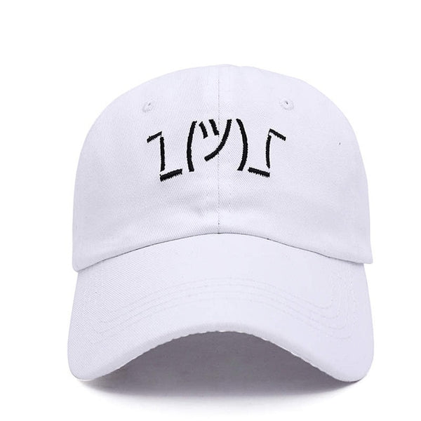 Embroidered Shrug Dad Hat Cap Unisex