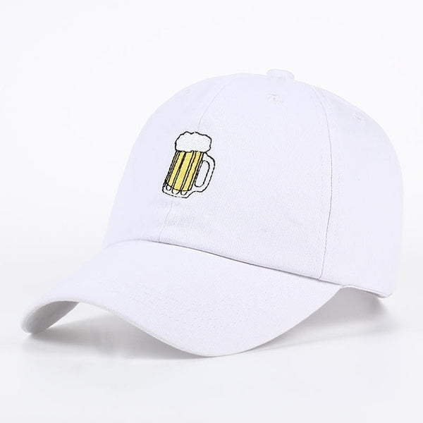Embroidered Beer Dad Hat Cap Unisex