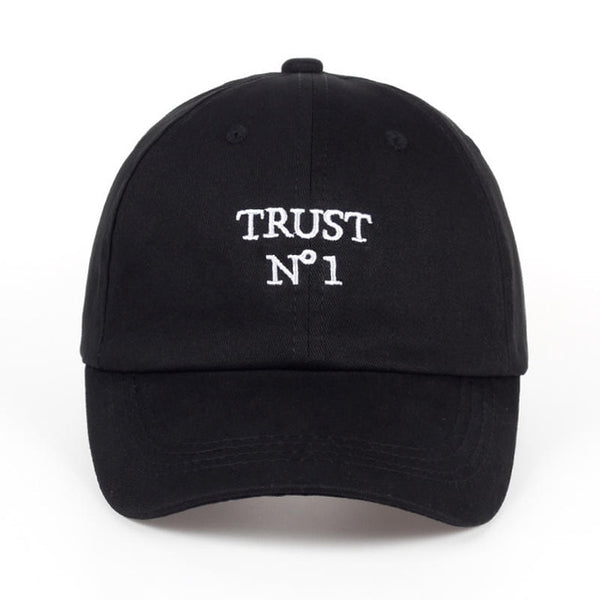 Embroidered Trust No One Dad Hat Cap Unisex