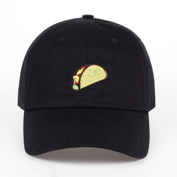 Embroidered Taco Dad Hat Cap Unisex