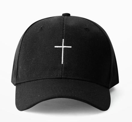 Embroidered Cross Church Dad Hat Cap Unisex