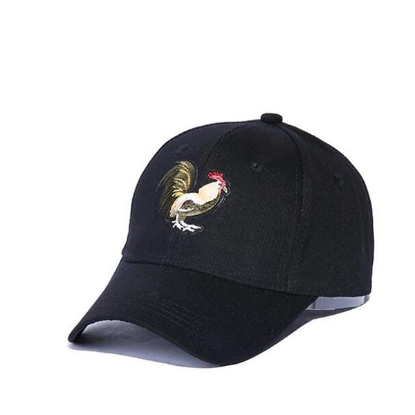 Embroidered Cock Dad Hat Cap Unisex