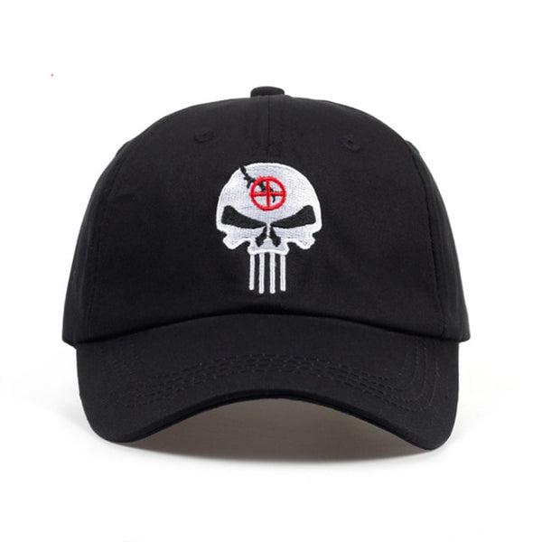 Punisher War Zone Embroidered Dad Hat Cap Unisex
