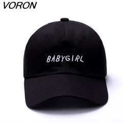 Big Text Babygirl Embroidered Dad Hat Cap Unisex