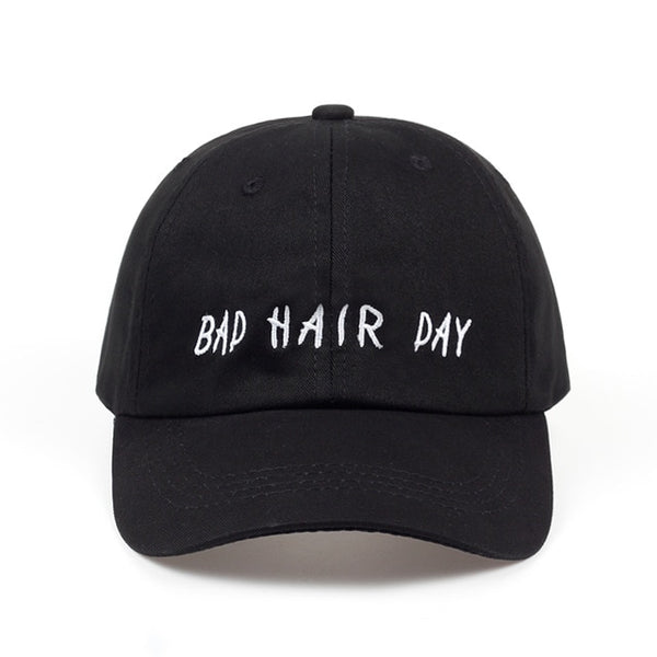 Bad Hair Day lol Embroidered Dad Hat Cap Unisex