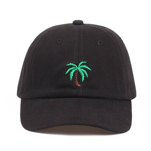 Embroidered Palm Tree Dad Hat Cap Unisex