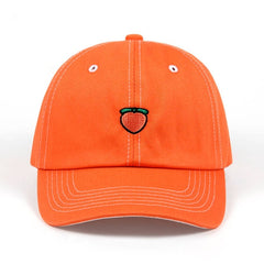 Fruit Variety Embroidered Dad Hat Cap Unisex