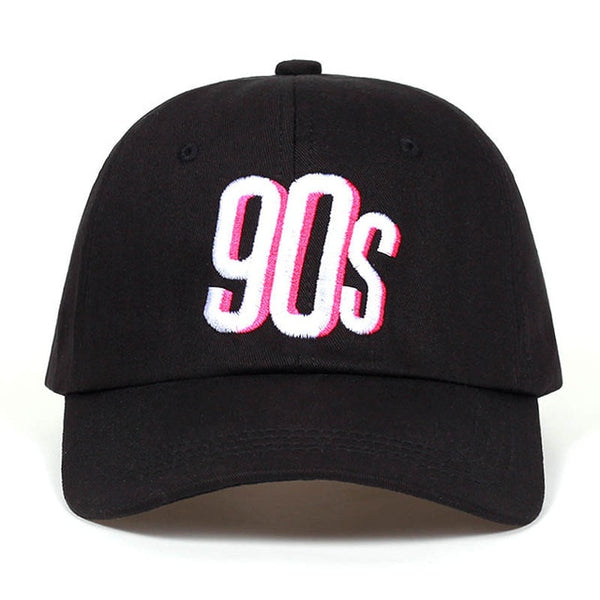 90s Pop Art Embroidered Dad Hat Cap Unisex